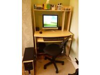 PC/Desk/Chair/Multi Media speakers with sub-woofer boom box.