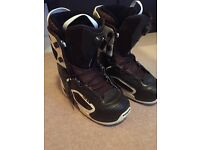 Snowboarding Boots (2 for Men) and Bindings (1 for Men and 1 for Women)