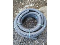 25m x 60mm I.D. Land French Drainage Perforated Pipe