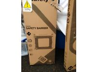Travel safety stair barrier