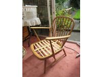 Ercol 334 Blonde Chair with Cushions