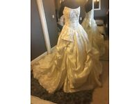 Brand New Silk Hollywood Dreams Wedding Dress (Ex Stock) Size 12/14 RRP £3000!