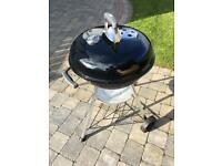 Weber 47cm compact charcoal BBQ for sale