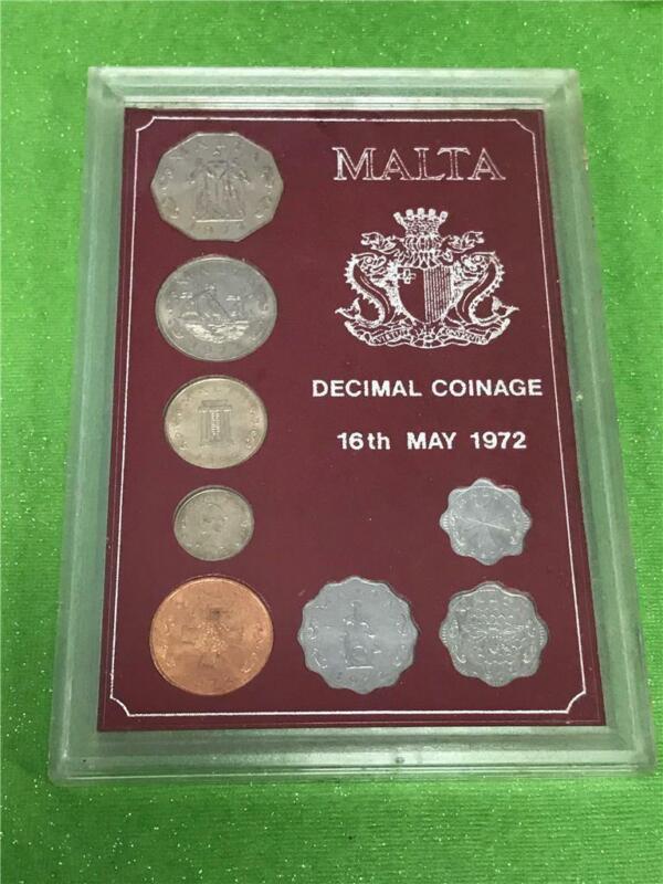 1972 Malta Mint Set OGP