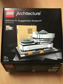 LEGO Solomon R Guggenheim Museum - Part of the Architecture Range