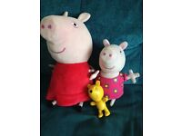 Peppa Pig soft toy & Hide and Seek