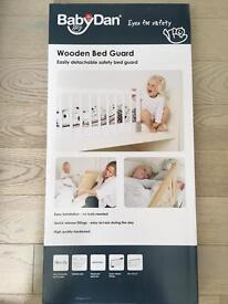 Baby Dan Wooden Bed Guard