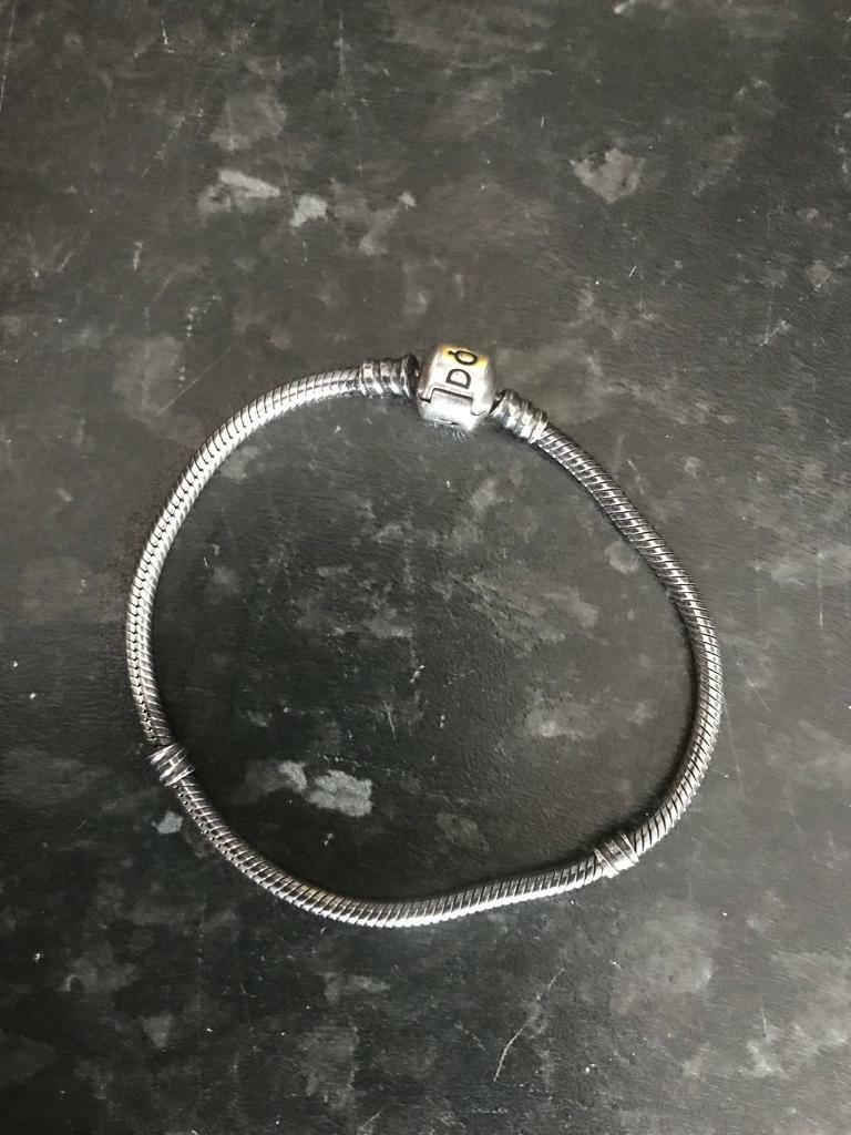 pandora charms and braclet