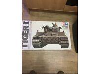 Used, Tamiya 1/16 rc model tank kit for sale  Hoo, Kent