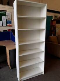 IKEA White Bookcase. 3 Available. Price Each