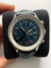Breitling Navitimer Watch 46mm Blue
