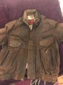 Men's leather jacket (Hide Park) NOW £50