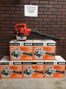 END OF SEASON SALE New Echo PB 250LN 250 LN Leaf Blower Landscape Handheld Lawn Care Stihl Billy Goat
