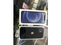 iPhone 12 64GB Unlocked Black Excellent Condition + Warranty