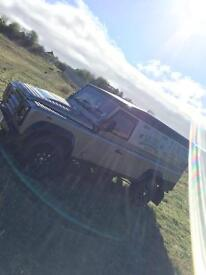 Landrover defender 110 2008 tdci 6 speed tax& mot exellent runner/driver/condition