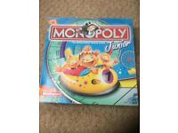 Monopoly Junior in Excellent Condition Age 5-8+ 2-4 players