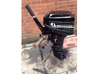 MERCURY 10HP OUTBOARD BOAT ENGINE SHORT SHAFT