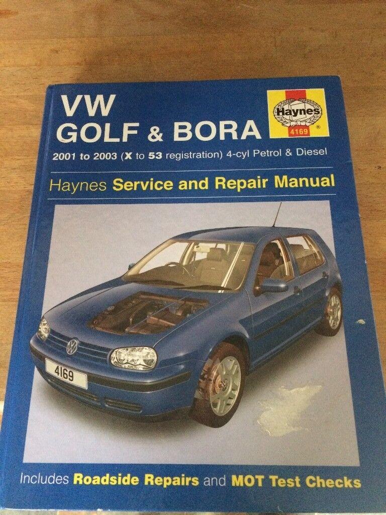 VW Golf Haynes manual, GTI