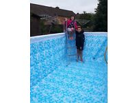 Swimming Pool - Above ground 13ft