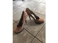Good Condition, Never Worn, High Heels - Size 4