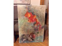 2015, collage, acryl , 90cm x 60cm, glass frame