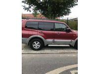 Mitsubishi Shogun 2000-2001 3.5 GDI Petrol Automatic