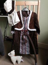 Childs Shepherd Fancy Dress Costume