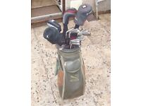 ladies golf bag with set of clubs