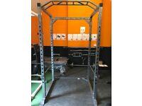 Heavy Duty Mirafit Power Cage - Squat Rack Weights Gym
