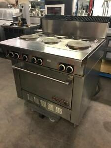 3ft ( 36 electric garland six burner stove with convection oven underneath ) mint like new only $2395 ! Retails $6,000+
