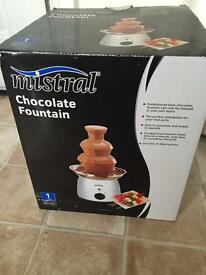 Chocolate fountain *new*