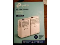 Brand New: TP-Link AV1000 Gigabit Powerline Kit TL-PA7010