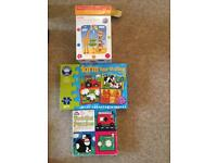 3 boxed jigsaw puzzles for aged 2-4
