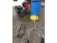*** COMMERCIAL POWER WASHER ~ INSTANT BUSINESS ~ LIKE NEW *** NO VAT ***
