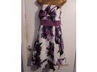 vintage style strapless dress size 18 by special editon red herring great for party or wedding