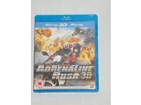 DVD 3D FILM MOVIE BLURAY ADRENALINE RUSH 3D BLU-RAY FAST WHEELS FURIOUS STUNTS.*