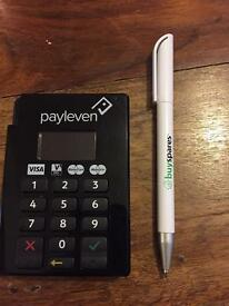 Payleven chip and pin card reader