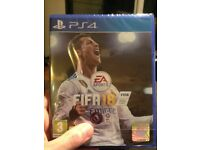 FIFA 18 PS4 New - with blister and 15 day free Fifa ultimate