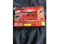 Nintendo 3DS XL - Pokemon Red XY - Comes with case and charger!