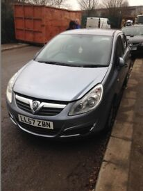 VAUXHALL CORSA D 1.2 2006 BREAKING FOR SPARES Z12XEP TEL 07814971951