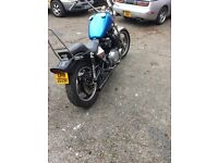 Suzuki gs1000 bobber very low miles 1800