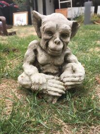 goblin/gargoyle stone statue