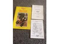 Stationary engine lister d books