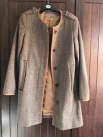 Zara coat size L 12/14