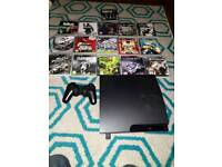 Ps3 with games and leads