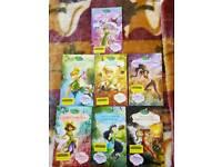 Disney fairies books/ £ 2.00 All