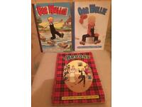 Oor wullie and brooms annuals