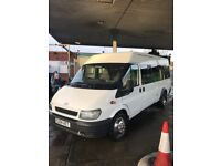no vat ford transit 17 seater minibus excellent condition t/belt and serviced