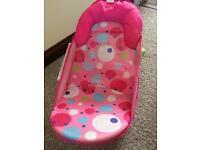 Baby adjustable bath seat