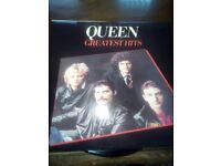 Queen vinyl record.lp.greatest hits.